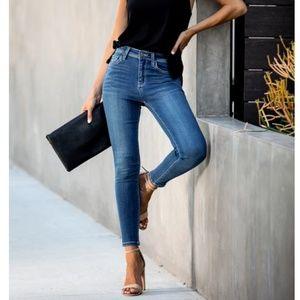 MARILYNN High-Rise Skinny Jeans